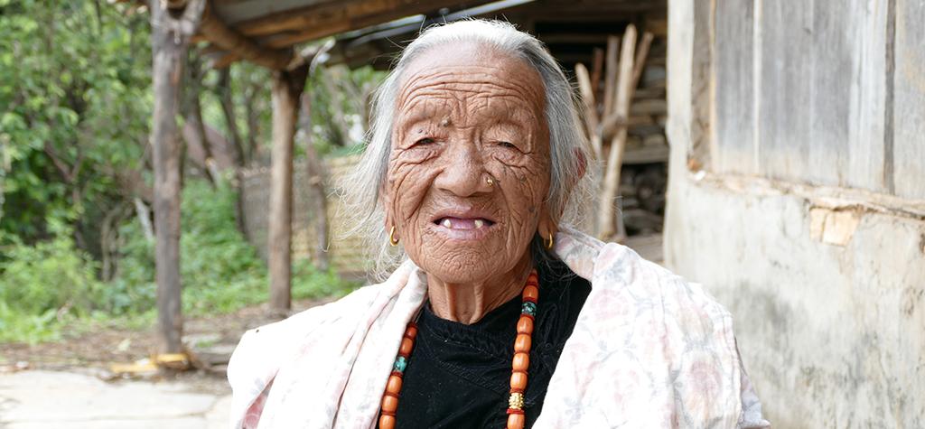 Gurkha widow Khajawati Gurung