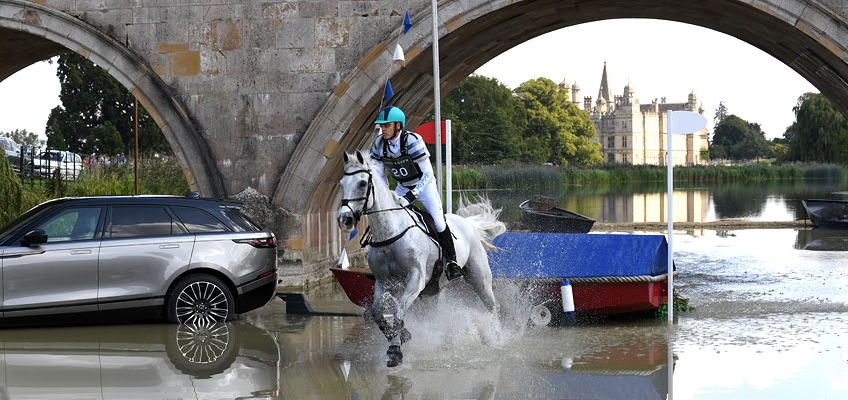 Win tickets to The Land Rover Burghley Horse Trials